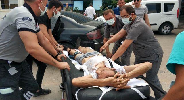 Samsun'da Kurban kesenlere silahlı saldırı: 2 yaralı