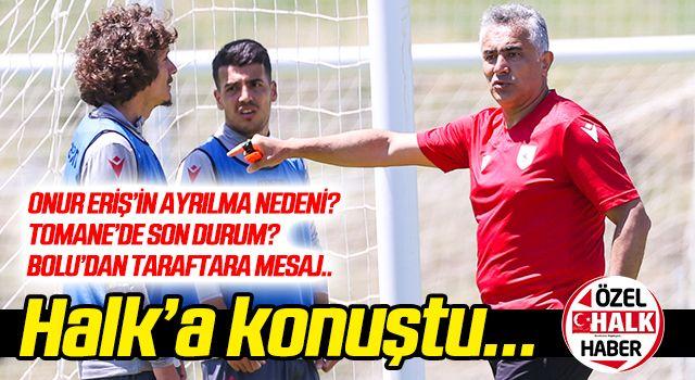 Samsunspor Teknik Direktörü Altıparmak, Halk Gazetesine konuştu