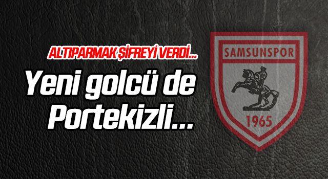 Samsunspor'un yeni golcüsü de Portekizli...