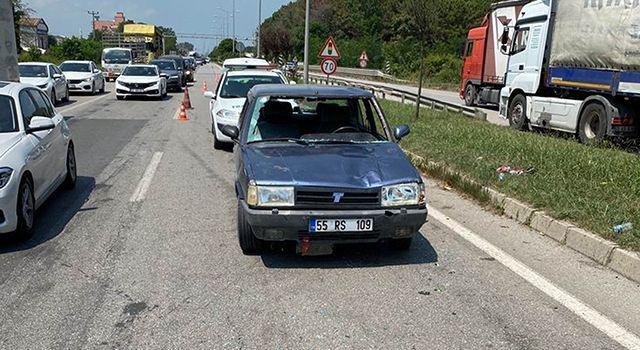 Bolu İzzet Baysal Üniversitesi Rektörü'nün babası Samsun'da kazada hayatını kaybetti