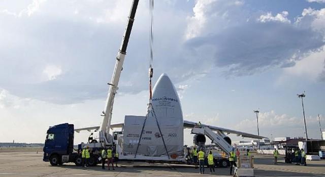 JUICE, Jüpiter yolculuğu öncesi Dünya'daki son durağı Airbus'ta