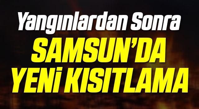 Samsun'da ateşli piknik yapmak yasaklandı