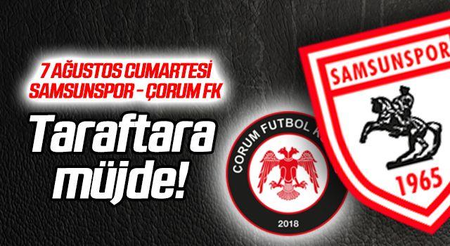 Yılport Samsunspor - Çorum FK maçı nerede? Saat kaçta?