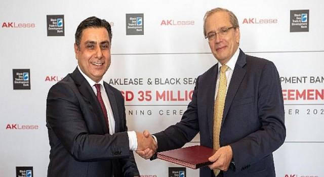 Aklease, Karadeniz Ticaret ve Kalkınma Bankası ile yeni bir kredi anlaşması imzaladı