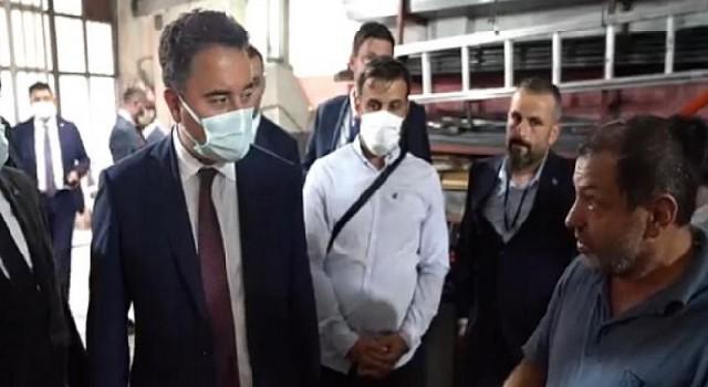 Babacan Trabzon halkıyla buluştu