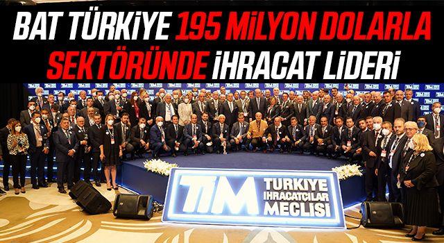 BAT Türkiye 195 Milyon Dolarla Sektöründe İhracat Lideri