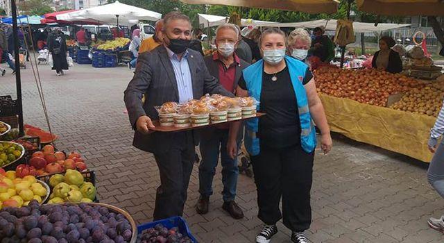 CHP Atakum gönülleri ısıttı