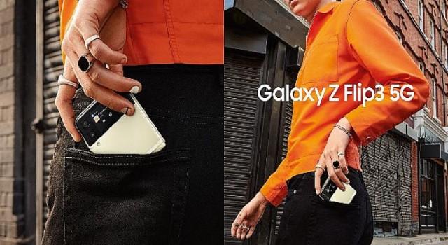 Galaxy Z Fold3 5G ve Galaxy Z Flip3 5G'nin mağazalardaki satışı başladı!
