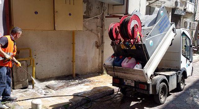 Jet yıkamaaracı yollarda