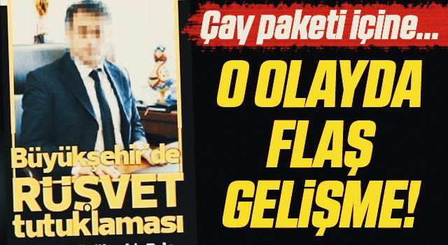Samsun'da Rüşvetten Tutuklanan Daire Başkanında Flaş Gelişme!