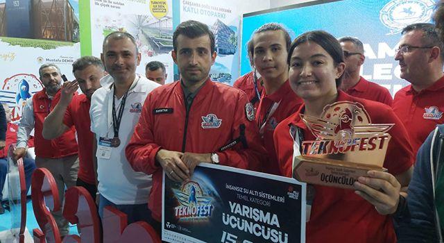 Samsun Milli Eğitim Müdürlüğü TEKNOFEST'ten 6 ödülle döndü