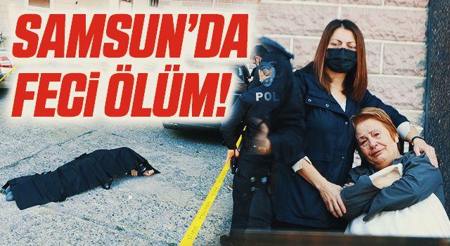 Samsun'da 8. katın penceresinden düşen yaşlı adam hayatını kaybetti