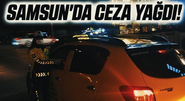 Samsun'da Ceza Yağdı! 46 Noktada Denetim