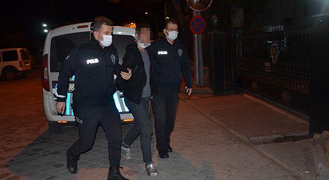 Samsun'da şüpheli şahıs polisten kaçamadı