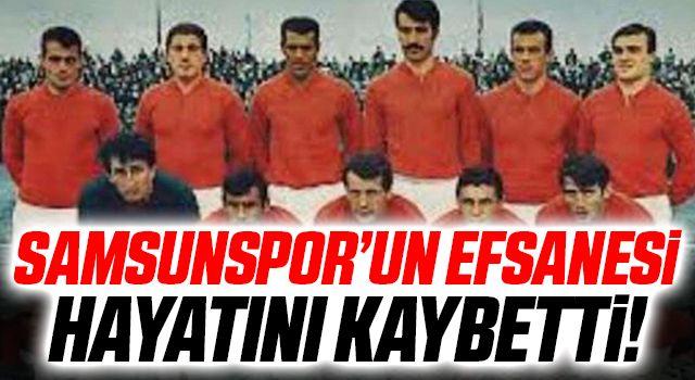 Samsunspor'un Efsanesi Abidin Akmanol Hayatını Kaybetti
