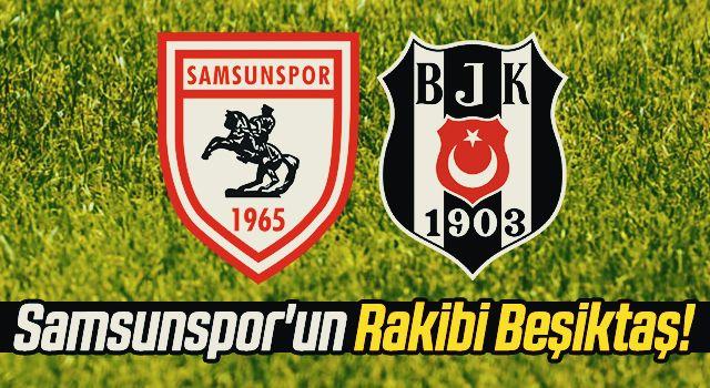 Samsunspor'un Rakibi Beşiktaş!
