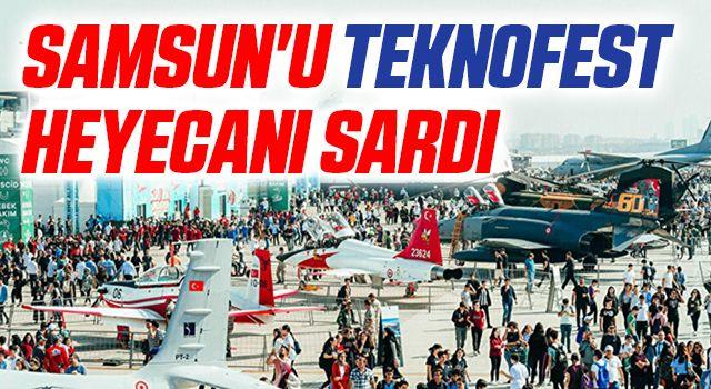Samsun'u TEKNOFEST Heyecanı Sardı