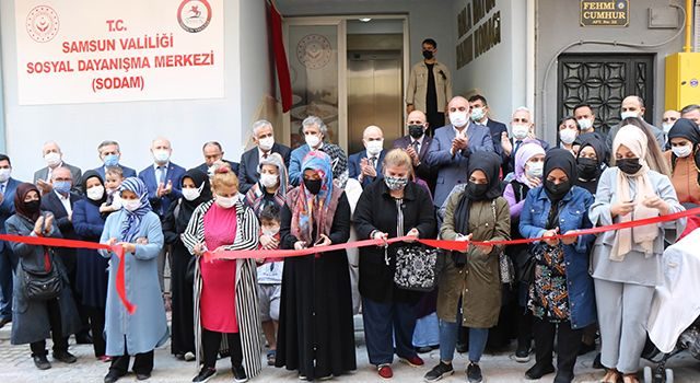 Sosyal DayanışmaMerkezi törenle açıldı