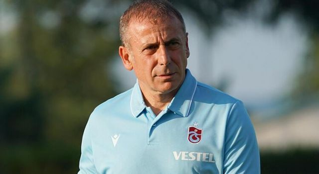 Trabzonspor Teknik Direktörü Abdullah Avcı Açıklaması