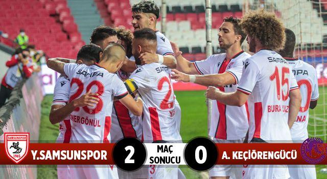 Yılport Samsunspor: 2 A. Keçiörengücü 0 (Maç Sonucu)