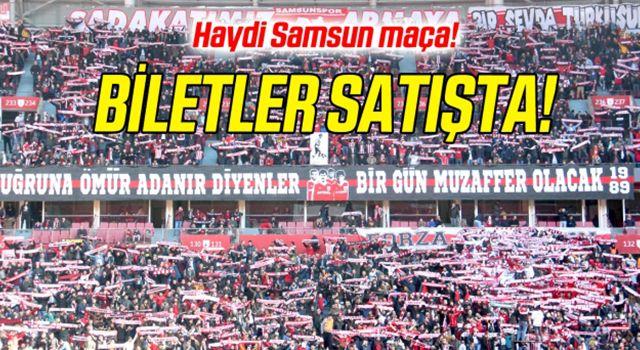 Yılport Samsunspor - Keçiörengücü Maçı Biletleri Satışta