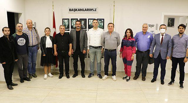 Yılport Samsunspor Yönetimi SAOB'la Biraraya Geldi