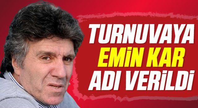 """Canik'te futbol heyecanı: Turnuvaya """"Emin Kar"""" adı verildi"""