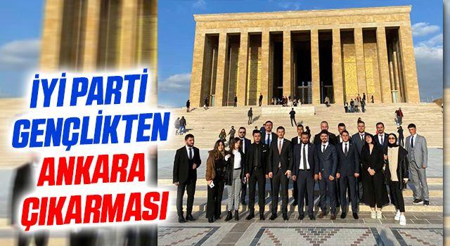 İYİ Parti gençlikten Ankara çıkarması