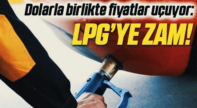 LPG'ye bir zam daha