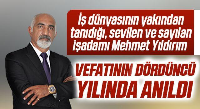 Mehmet Yıldırım vefatının dördüncü yılında anıldı