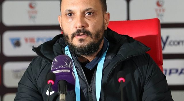 Menemenspor Teknik Sorumlusu Mehmet Ali Beşel'den Samsunspor Maçı Sonrası Açıklama