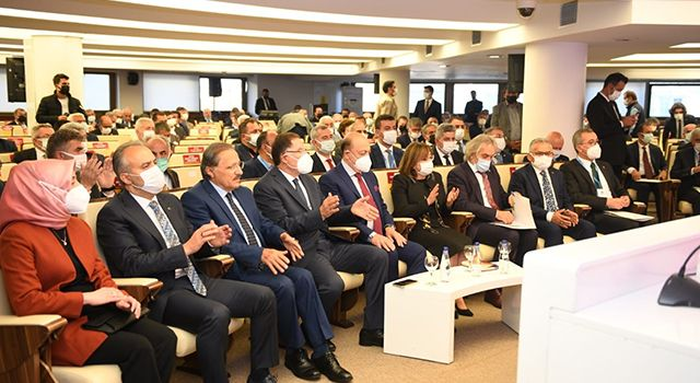 """Özdemir: """"TBB Meclis Toplantısı'nda önemli konular istişare edildi"""""""