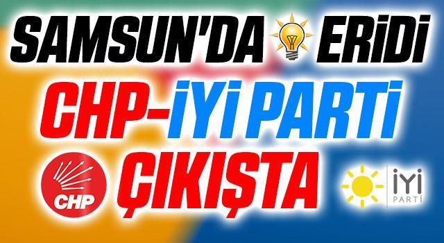 Samsun'da AK Parti Eridi CHP-İYİ Parti Çıkışta