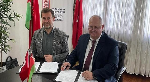 Türkiye ile Belarus'un karşılıklı dış ticaret hacminde 1,5 milyar dolar hedefleniyor