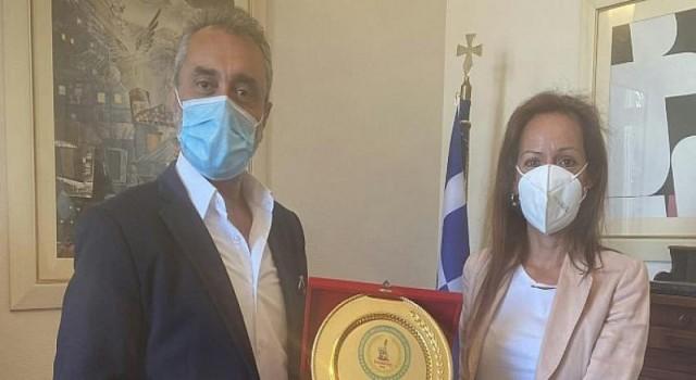 """Türkiye Yunanistan Dostluk ve Barış Mesajları İzmir""""den Verildi"""