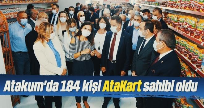 Atakum'da 184 kişi AtaKart sahibi oldu