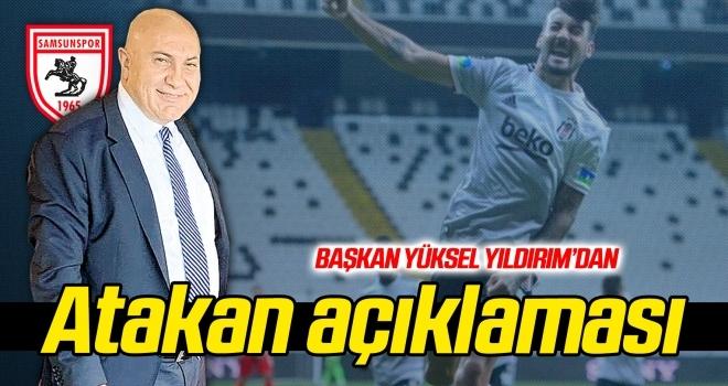 Başkan Yıldırım'dan Atakan Üner ve Ajdin Hasic açıklaması