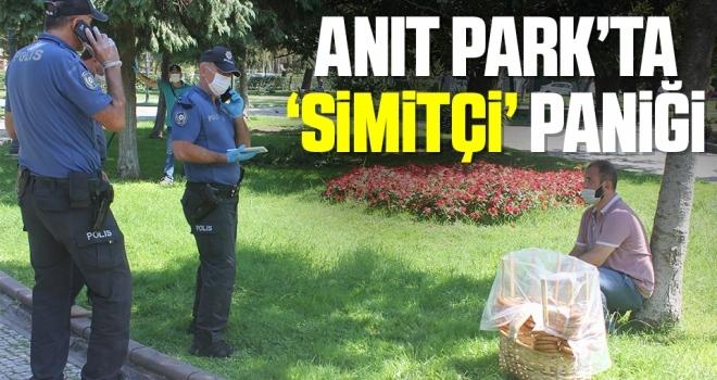 Anıt Park'ta 'Simitçi' Paniği