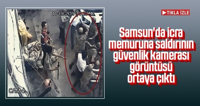 Samsun'da icra memuruna linç girişimi