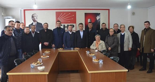 AK Parti'denCHP'ye Ziyaret