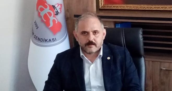 Anadolu Eğitim Sendikası Samsun İl Başkanı Murat Bahtiyar: Enflasyon çarşıpazarda farklı