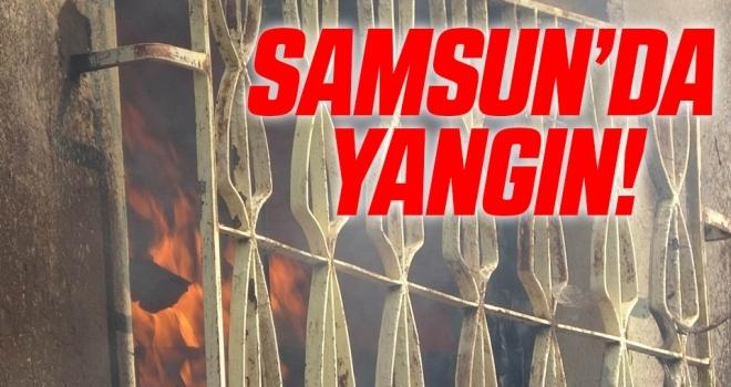 Samsun'da Yangın!