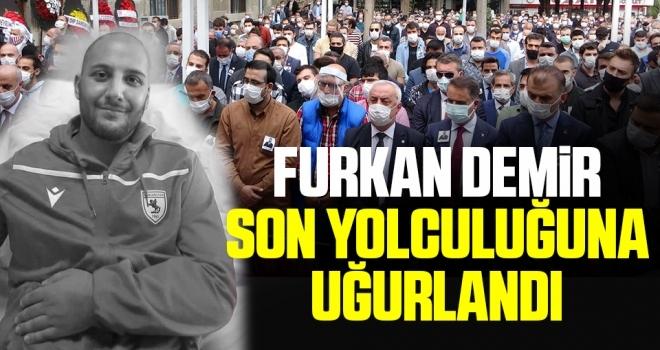 CHP İl Gençlik Kolları Başkanı Furkan Demir Son Yolculuğuna Uğurlandı