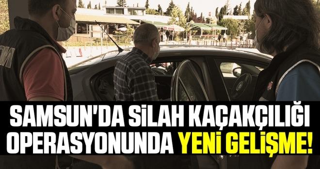 Samsun'da Silah Kaçakçılığı Operasyonunda Yeni Gelişme!
