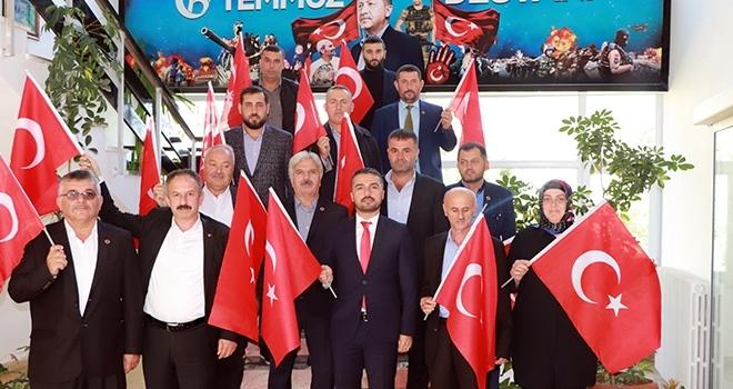 Ayvacık Belediyesi Meclisinden Barış Pınarı'na Tam Destek