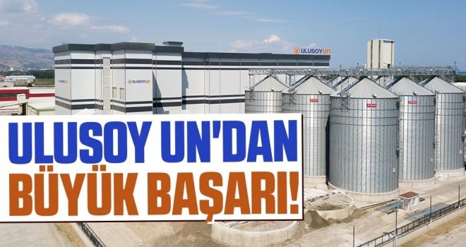 Ulusoy Un'dan Büyük Başarı!