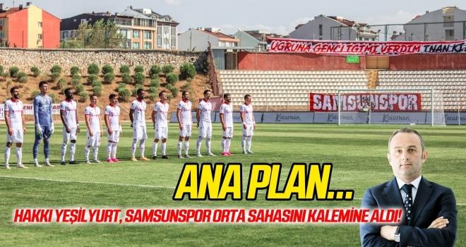 Hakkı Yeşilyurt, Samsunspor orta sahasını kalemine aldı...