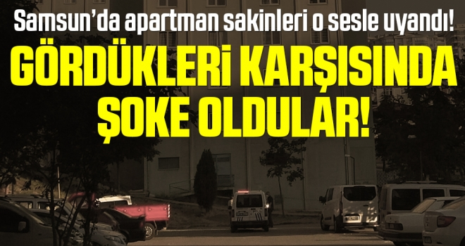 Samsun'da Şoke Eden Olay! 8. katın penceresinden düşerek hayatını kaybetti