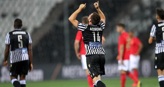 AndrijaZivkovic, Benfica'yı Şampiyonlar Ligi'nden eledi