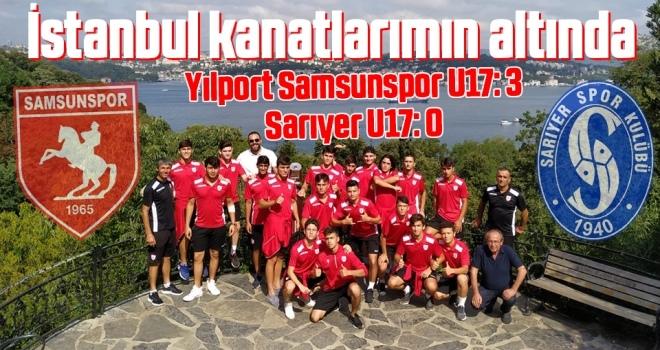 Yılport Samsunspor U17: 3 Sarıyer U17: 0